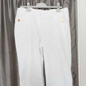 "NEW pants 14 white inseam 31""  waist 34"""